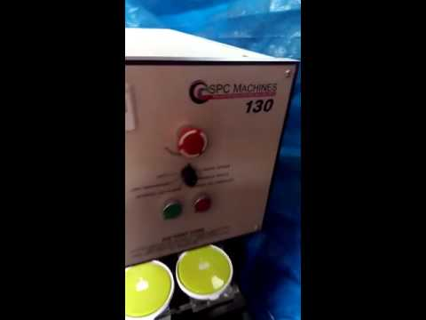 Single Color 130 Mm Dia Closed Cup Pad Printing Machine Model Max 130p