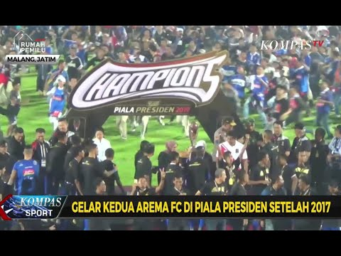 Gelar Kedua Arema FC di Piala Presiden 2019