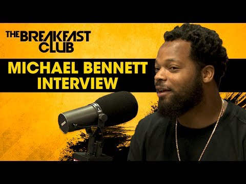 Michael Bennett Speaks On Colin Kaepernick Being Blackballed, Russell Wilson, Jason Whitlock & More