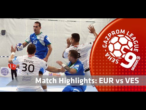 Match highlights: Eurofarm Rabotnik vs Telekom Veszprem