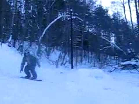 Видео: Видео горнолыжного курорта Орлиная Гора в Ленинградская область
