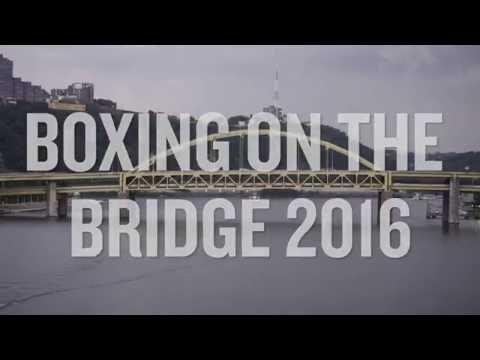 Boxing on the Roberto Clemente Bridge