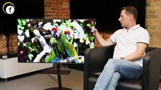 Vorstellung des neuen Top-Fernsehers Loewe bild i