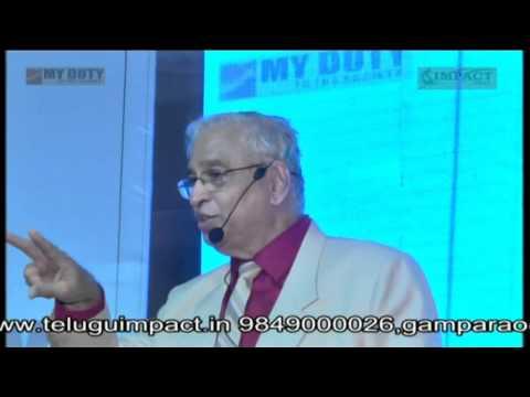 Parenting-పెంపకం | Dr Ks Ratnakar | TELUGU IMPACT Khammam 2014