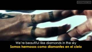Rihanna  Diamonds Lyrics - Sub Español) Official Video