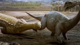 Sarcosuchus: the Dinosaur Killing Crocodile   Deadly Dinosaurs   Earth Unplugged