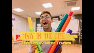 A DAY IN THE LIFE OF AN ELEMENTARY MUSIC TEACHER