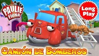 Paulie y Fiona | Camión de Bomberos | ¡Sin parar! | Compilación | Caricaturas para Niños en Español