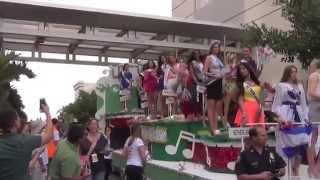 Miss Universe 2014 Celebration of Nations Parade PART 3