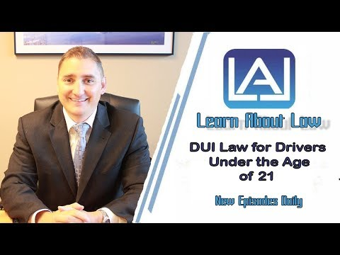 What Happens if you get a DUI Under 21?  Illinois DUI Law Explained | Learn About Law