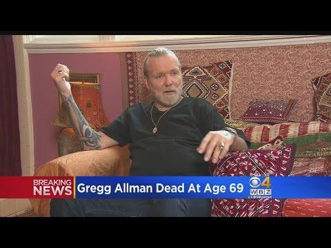 Southern Rock Pioneer Greg Allman Dies