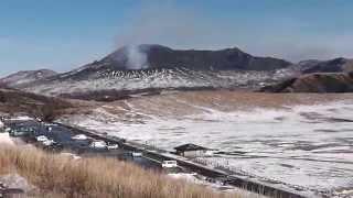 【熊本県観光】阿蘇山噴火MountAsoeruption