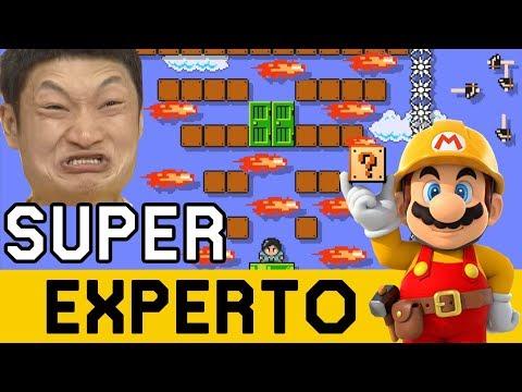 AUSTRALIANO QUE IMPRESIONA Y JAPO LOCO ¡¡APARECEN!! - SUPER EXPERTO NO SKIP | Mario Maker - ZetaSSJ