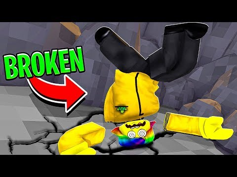 I BROKE ALL MY BONES and got $10,000,000,000 (Roblox)