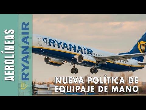 MEGA TUTORIAL NUEVA POLÍTICA EQUIPAJE DE MANO RYANAIR