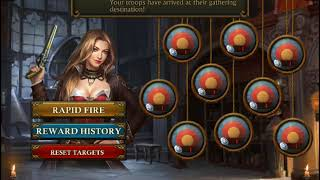 Guns of Glory -  How to get free duelist equipment from shooting gallery