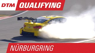 DTM - Nurburgring2015 Qualifying 2 Martin Wide Glock Spins