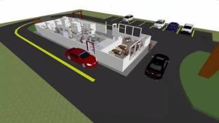 Fast Food Restaurant Simulation