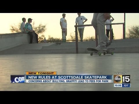 Scottsdale parents, kids call new skate park fee unnecessary