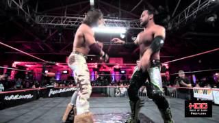 "Johnny Mundo (John Morrison)  vs PJ Black (Justin Gabriel) - House of Glory Wrestling ""Civil War"""