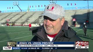 Jenks, Union to face off in Class 6A-I State Semifinals