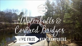 Waterfalls And Covered Bridges