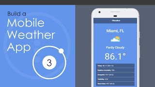Ionic 3 Mobile Weather App Build
