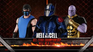 WWE Hell in a Cell 2k18 All-Star Championship Match Episode #5