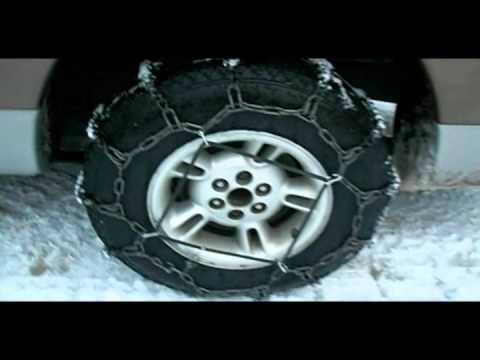 Tire Chains - Simple Installation