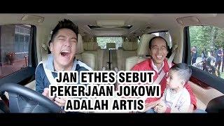 Ditanya Boy William soal Pekerjaan sang Kakek, Jan Ethes Sebut Jokowi Artis