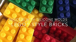 Success with Silicone Molds - LEGO Bricks