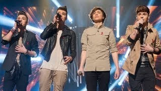 Union J sing Lonestar's I'm Already There - Live Week 9 - The X Factor UK 2012
