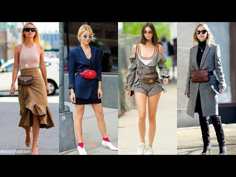 RIÑONERAS: el complemento de moda para esta primavera verano 2018 | Tendencias Bolsos Street Style