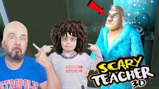 KIZGIN ÖĞRETMENE ÖYLE BİR ŞAKA YAPTIK Kİ KEL OLDU! | SCARY TEACHER 3D OYNUYORUZ!