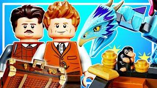 LEGO Чемодан Ньюта Саламандера 75952 Обзор Лего новинки