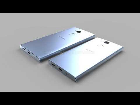 Sony Xperia XA2 e XA2 Ultra, render a 360° dei prodotti