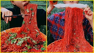 Amazing Super Spicy Noodles Eating Show- #3 #ASMR #mukbang