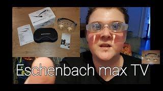 Eschenbach max TV Brille, für Blinde und Sehbehinderte, Hilfsmittel