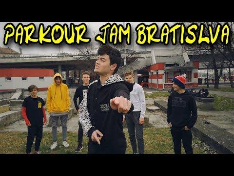 Parkour Jam Bratislava - Flying Emotions