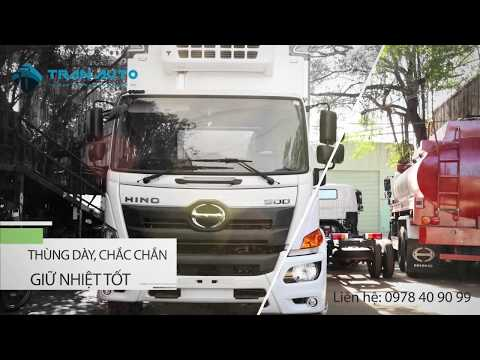Xe đông lạnh TRAN AUTO động cơ mạnh mẽ, tiết kiệm nhiên liệu