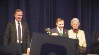 County Legislator Holmquist Remembers President Bush