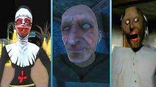 Evil Nun Vs Grandpa Vs Granny