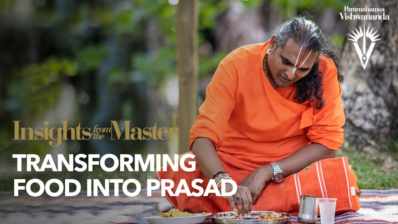 Transforming Food Into Prasad | Insights from the Master