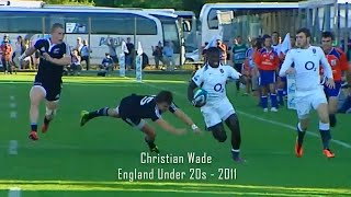 Christian Wade has serious speed