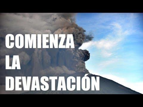 RESISTANCE TV LO PREDIJO: Ataques de Volcanes han Empezado en Bali Indonesia