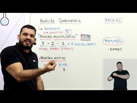 Aula 10 | Análise Combinatória - Parte 01 de 03 - Matemática