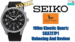 Great Field Watch! | Seiko 100m Kinetic Quartz SKA727P1 Unbox & Review