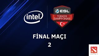 Dota2 - Eski Jenerasyon vs. Team Entelechy - Intel ESL Türkiye Şampiyonası Final Maçları