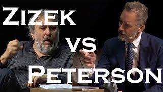 Slavoj Zizek debates Jordan Peterson [HD, Clean Audio, Full]