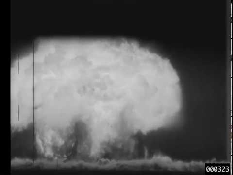 Watch: Declassified Footage Of Nuclear Tests